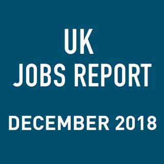 PeopleScout UK Jobs Report Analysis — December 2018