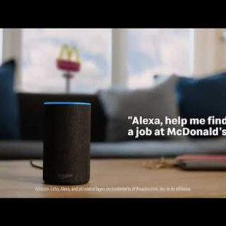 McDonald's recruit Alexa to help attract talent