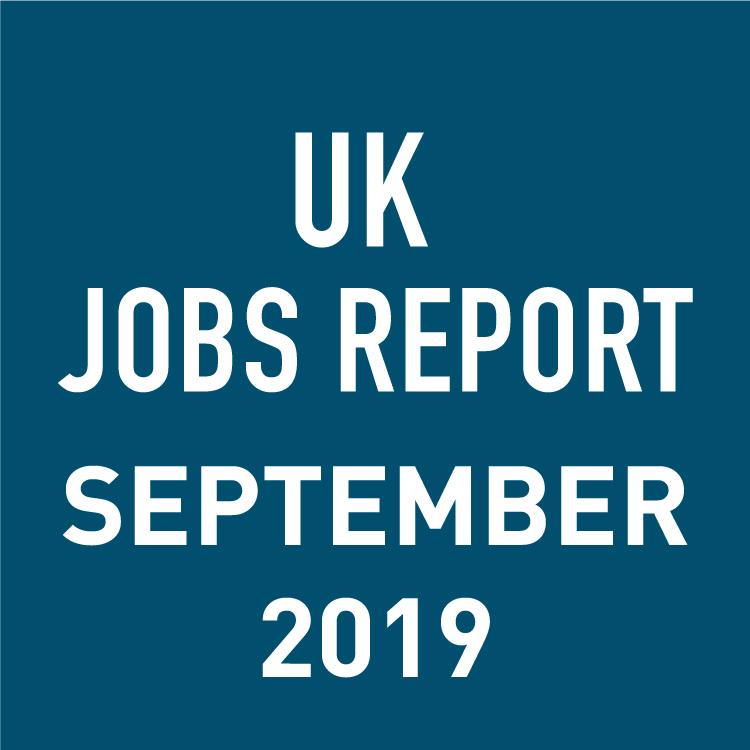 PeopleScout UK Jobs Report Analysis – September 2019