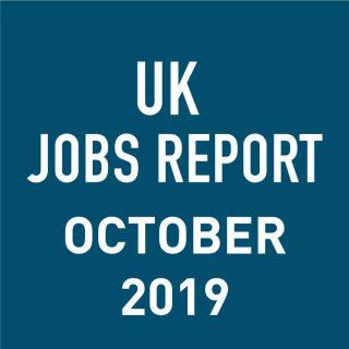 PeopleScout UK Jobs Report Analysis – October 2019