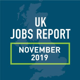 PeopleScout UK Jobs Report Analysis – November 2019