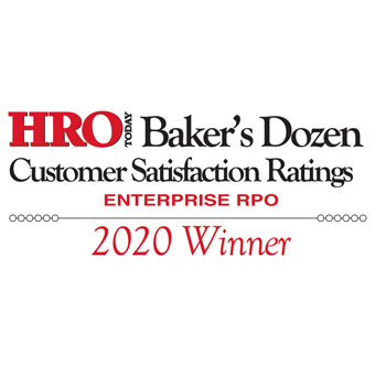 2020 HRO Today RPO Baker's Dozen